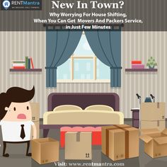 Problem with Shifting Your House, Forget Worrying About it Because Rentmantra.com provides world class movers and packers service Quickly and comfortably. #Houseshifting #Worryfree #Moversandpackers #Rentmantra #Brokerfree #Noida