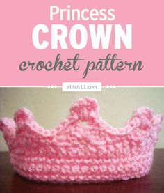 This Easy Princess Crown crochet pattern is a lovely toy for your imaginative and princess-loving kids. They can wear this around and pretend to be the lovely, precious princesses in their own real-life fairy tales.