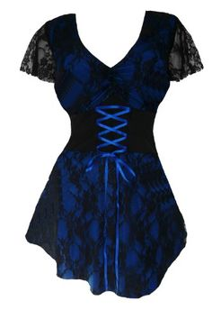 Dare To Wear Victorian Gothic Women's Plus Size Sweetheart Corset Top