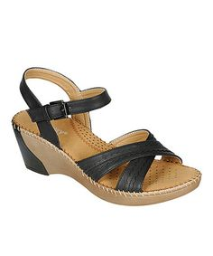 This Black Mary Buckle Sandal is perfect! #zulilyfinds