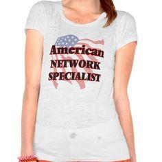 American Network Specialist T Shirt, Hoodie Sweatshirt