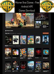 Warner Bros Games - Free Android APK Games Download