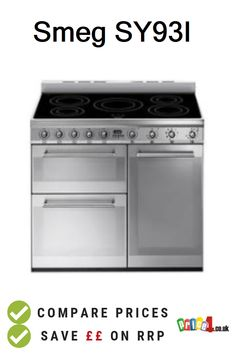 Smeg Compare UK prices and find the cheapest deals from 9 stores. Electric Range Cookers, Kitchen Appliances, Diy Kitchen Appliances, Home Appliances, Electric Stove