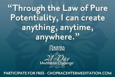 Pure Potentiality