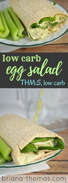 Low Carb Egg Salad...THM:S, low carb, sugar free, gluten/nut free