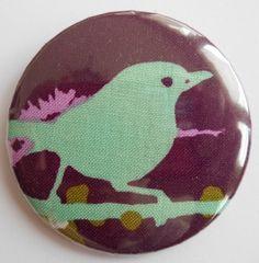 Button 59 mm  mit Sicherheitsnadel von AnnKara's Queerbeet-Shop auf DaWanda.com