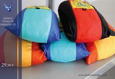 L'immanquable de l'été Il vous accompagnera partout dans vos moments de #détente et #farniente Hamac toile de parachute Seulement -29,90€- sur www.beknitdesign.com http://urlz.fr/3Pbe