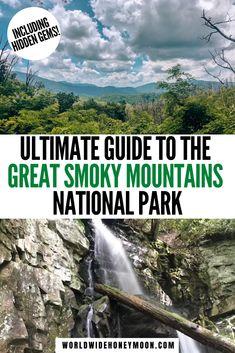 Smoky Mountains Hiking, Smoky Mountains Tennessee, Great Smoky Mountains, Nc Mountains, Appalachian Mountains, Tennessee Vacation, Gatlinburg Tennessee, Tennessee Cabins, Tennessee Attractions
