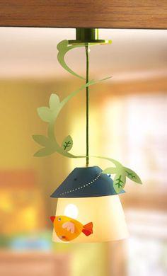 DECOILUZION - Lámpara infantil Casita de la Cardelina