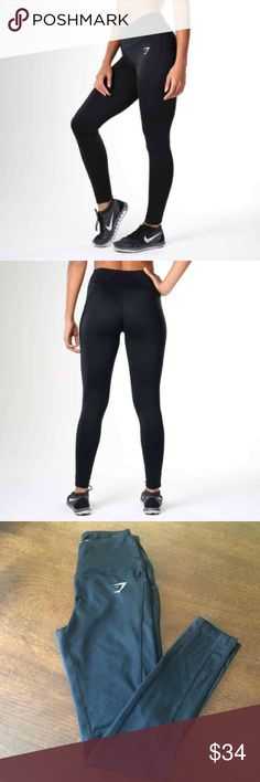 Gymshark Dry Sculpture Black Workout Leggings The Sculpture Leggings are high-waisted and flexible exercise leggings, with Gymshark DRY technology for a cool, comfortable workout. Size Small only tried on NWOT  - High waisted - Hidden pocket - Gymshark DRY moisture management  Main: 87% Polyester, 13% Elastane gymshark Pants Leggings