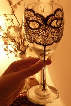 perfection addition to my hand painted wine glass collection