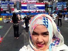2 Hijab Simple Tutorial With Riva Rovifa Vs Nurul Dotdotdot - Tutorial Hijab Modern - YouTube