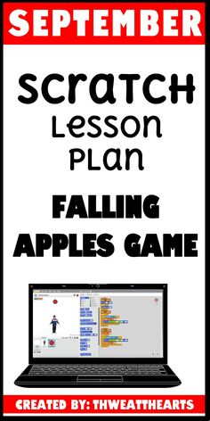 A lesson plan for upper elementary and middle schools students to create a Falling Apples Game. By the end of this lesson, each student or partner group will have created a game where the object is to catch the apples that are falling. If they miss, they lose a point; if they catch it, they get a point.