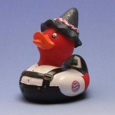 Duckshop - der Shop für Badeente und Quietscheentchen - Bayern München Badeente Tracht