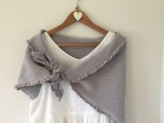 Easy as pie shawl by Kate Eastwood on the LoveCrochet blog