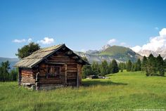 Almhütte Seiser Alm   Piccola baita nelle Alpe di Siusi