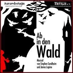 """PREMIERE 20.4. / 19.30 Uhr/ Klinkerhallen Zeitz  """"Ab in den Wald"""" das Musical, präsentiert vom Jugendtheater Karambolage des Triton e.V."""