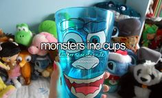 Monsters inc. cups