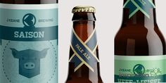 Keane Brewing - Daily Package Design Inspiration !
