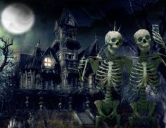 We are trying to raise some money to make the best haunted house on the block. Monies gain… Ryan Mitchell Mahon needs your support for HALLOWEEN HAUNTED HOUSE Spooky Halloween, Photo Halloween, Halloween Haunted Houses, Halloween Skeletons, Halloween Makeup, Haunted Mansion, Halloween 2019, Halloween Cartoons, Funny Halloween