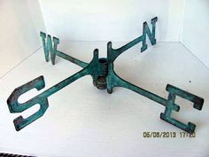 Vintage Weather Vane Parts Great For Wall Decor