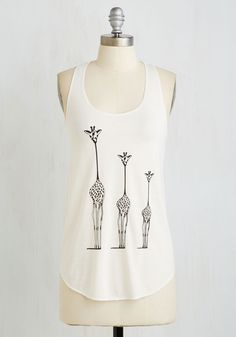 Until Necks Time Top. After a day of sporting this ivory tank top out n about, youll yearn for the opportunity to wear it again! #cream #modcloth