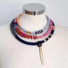 statement+delicate+necklace+by+kjoo+on+Etsy