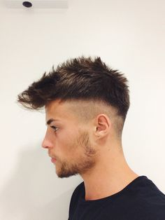 (notitle) Herrenfrisuren 2019 - Popular Men's Haircuts and Hairstyles For Men Mens Haircuts Short Hair, Mens Medium Length Hairstyles, Mens Hairstyles Fade, Hairstyles Haircuts, Teen Boy Hairstyles, Medium Hair Cuts, Short Hair Cuts, Hair And Beard Styles, Curly Hair Styles
