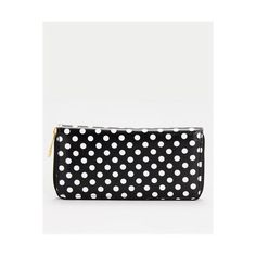 Judy's Accessories Polka Dot Wallet via Polyvore
