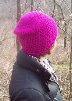 ...new ski hat perhaps. Crochet.