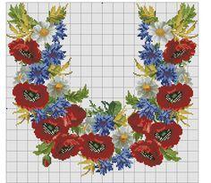 Gallery.ru / Фото #144 - схемы для вышиванок - zhivushaya