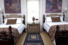 Guest bedroom at P. Allen Smith's Garden Home. Visit www.pallensmith.com for more photos, recipes, and tips.