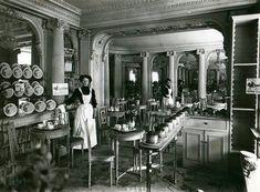Salon de thé FAUCHON 1930