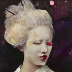 Lita Cabellut � Dried Tear @ Opera Gallery, Singapore