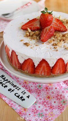 No Bake Cheesecake, Strawberry Cheesecake, Italian Desserts, Italian Recipes, Just Cakes, No Bake Desserts, Summer Recipes, Food To Make, Cupcake Cakes
