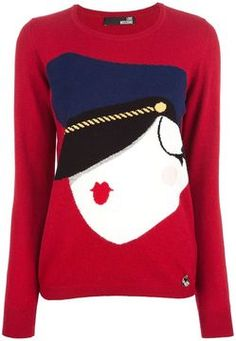 Love Moschino woven jumper on shopstyle.com