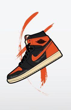 Sneakers Wallpaper, Shoes Wallpaper, Nike Wallpaper, Jordan 1 Iphone Wallpaper, Shoes Vector, Nike Shoes, Sneakers Nike, Clothing Sketches, Sneaker Art