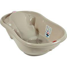 #Baignoire évolutive en fonction de l'âge du bébé * 0-6mois : position allongés * 6 mois et + : position assise #onda #bain #toilette