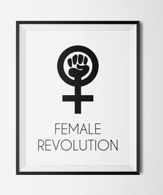 #Revolution for #Equality http://etsy.me/2kY6aD8 #Feminism #Feminist #Girl #Woman #Power #Empowering #Etsyshop #WallArt #HomeDecor #Printable #Quote #Inspirational #Motivational #Cheap #EtsyFinds #EtsyForAll #Stampe #Prints #Decor #EtsyHunter #etsyseller #art #black #instalove #instalike Wonderful Wall Art Designs to Brighten your Life!