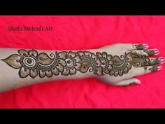 Black Mehndi Designs, Arabic Bridal Mehndi Designs, Mehndi Designs Front Hand, Khafif Mehndi Design, Mehndi Designs Book, Mehndi Style, Mehndi Designs For Girls, Mehndi Designs For Beginners, Mehndi Design Photos