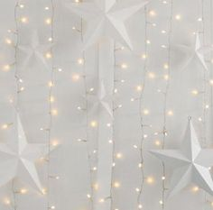 stars & fairy lights.... I want do do this with starfish