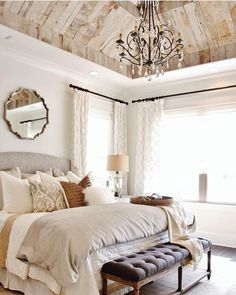 The ceiling sets the tone for the entire room!