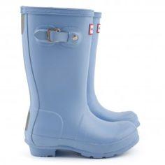 Original Powder blue Wellington boots   $53