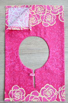 Fold fabric to finish seam 2