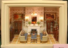 dollhouses and roomboxes - Google Search