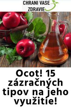 Vyrobte si přírodní kosmetiku z jablečného octa Deodorant, Vegetables, Food, Alcohol, Essen, Vegetable Recipes, Meals, Yemek, Veggies