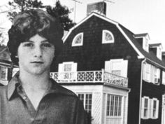 Amityville - George Lutz Describes The Last Night In The Amityville House Paranormal, George Lutz, The Amityville Horror House, Dutch Colonial Homes, Colonial Exterior, Exterior Paint, Haunted House Stories, Mountain Home Exterior, Unexplained Mysteries