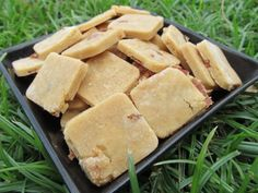 Peanut butter/bacon dog treat recipe