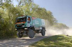 Dakar 2014 Driver Pep Vila, Team Petronas De Rooy Iveco