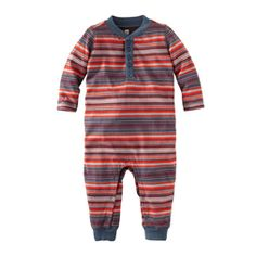 This one might be worth breaking my no tiny stripes rule. Super cute!  Peli Stripe Romper